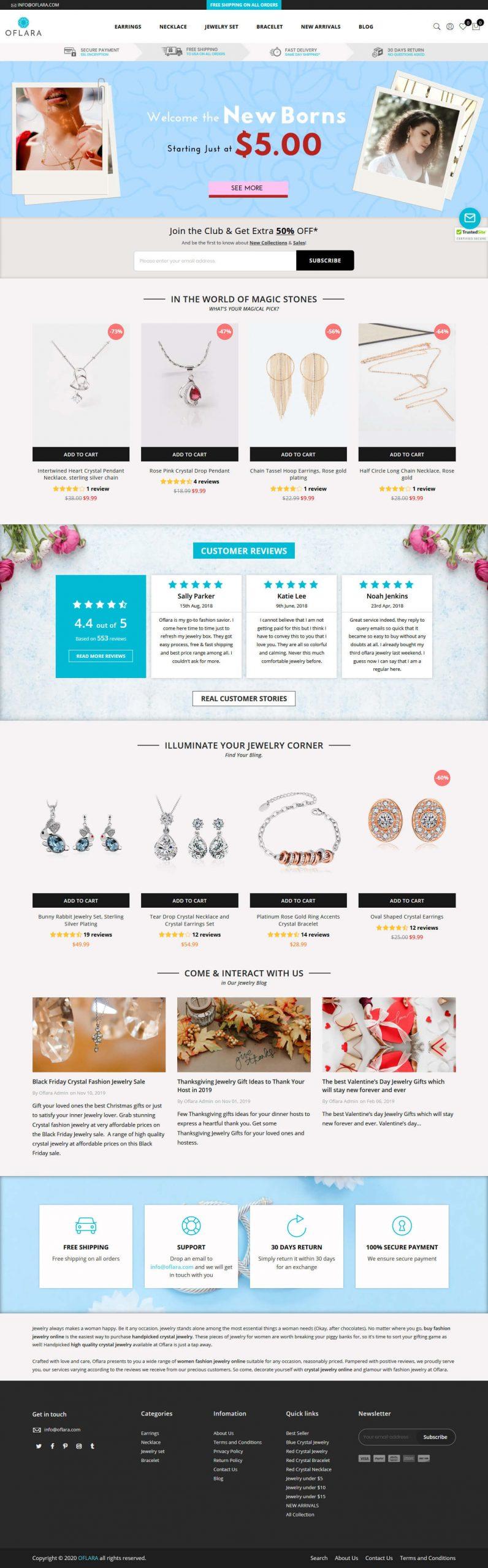 Shopify Homepage Design Conversion After - BrillMark