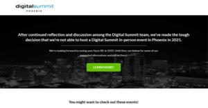 Digital Marketing Conference Digital Summit Phoenix