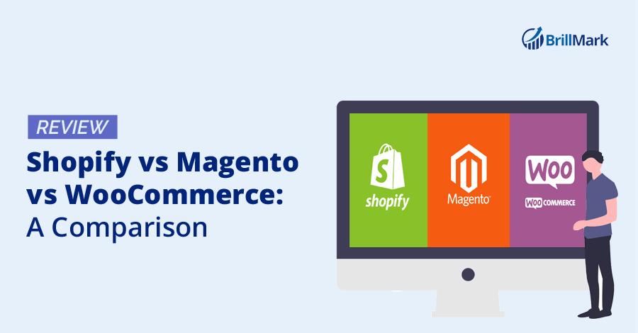 Shopify v sMagento vs WooCommerce: A Comparison